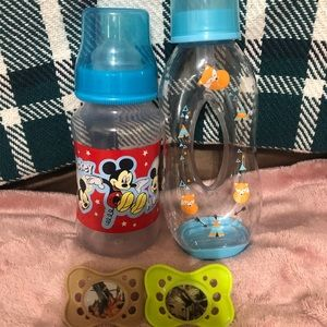 Other - 2 bottles and 2 pacifiers